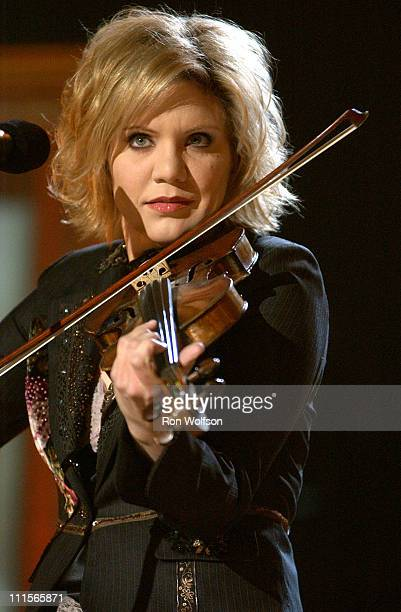 Alison Krauss during 'I Walk the Line A Night for Johnny Cash' Day 2 at Pantages in Los Angeles California United States