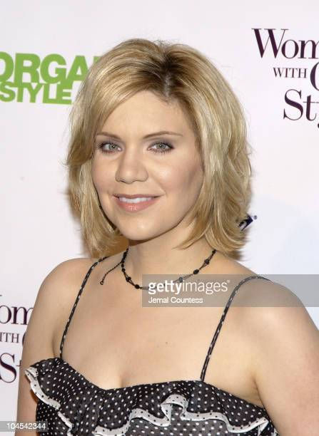 Alison Krauss during Organic Style Magazine Honors the 2005 'Women of Organic Style' at Jazz at Lincoln Center in New York City New York United States