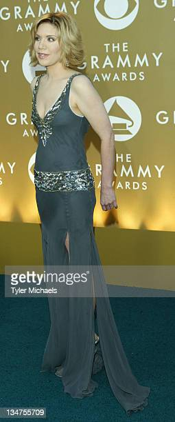 Alison Krauss during The 46th Annual Grammy Awards - Arrivals at Staples Center in Los Angeles, California, United States.