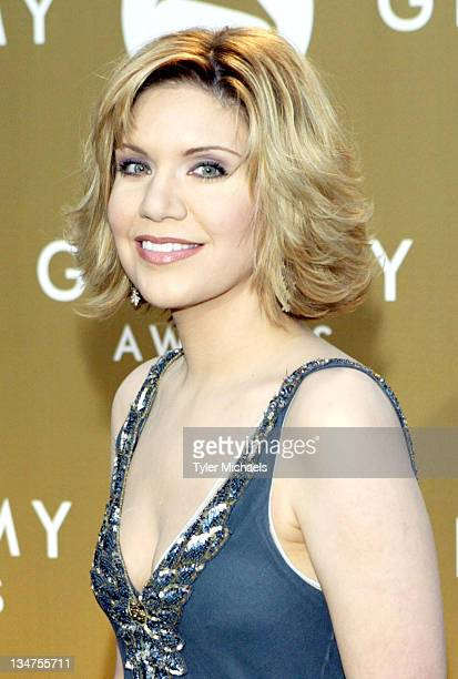 Alison Krauss during The 46th Annual Grammy Awards Arrivals at Staples Center in Los Angeles California United States