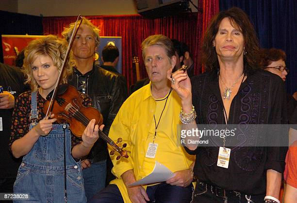 Alison Krauss, Matt Sorum, Brian Wilson and Steven Tyler