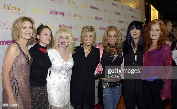 Alison Krauss Mindy Smith Dolly Parton Lifetime President/CEO Carole Black Anastacia Ann Wilson and Bonnie Raitt