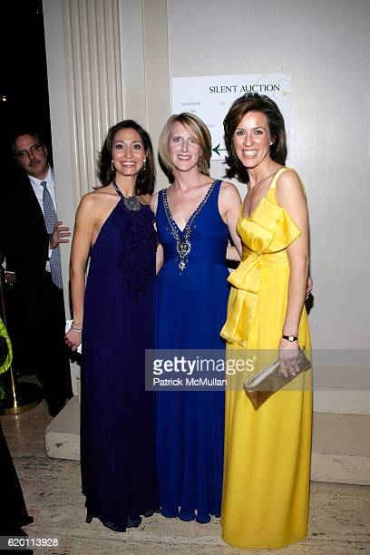 Alison Levasseur Jennifer Banks Oughourlian and Melissa Meeschaert attend LA VIE EN VERT GALA 2008 Lycee Francais de New York at Cipriani Wall Street...