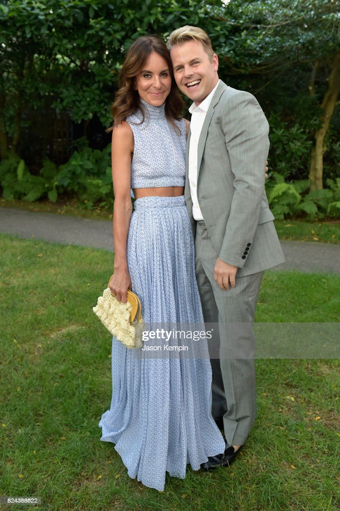 Alison Loehnis and Adam Lippes attend The GOOD+ Foundation's Hamptons Summer Dinner co-hosted by NET-A-PORTER on July 29, 2017 in East Hampton, New York.