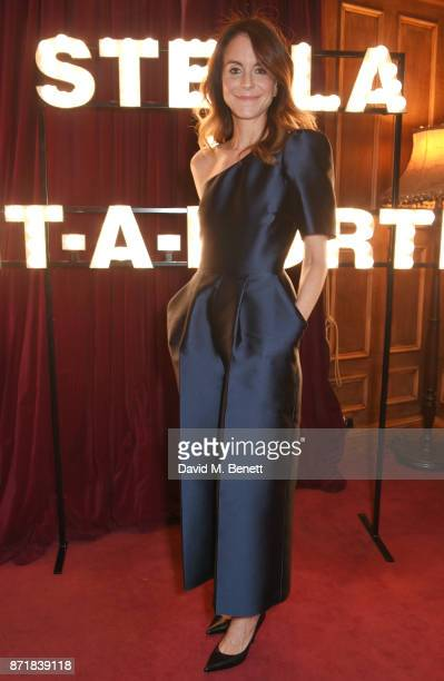 Alison Loehnis attends a private dinner hosted by NETAPORTER and Stella McCartney to celebrate the launch of the Stella McCartney x NETAPORTER party...