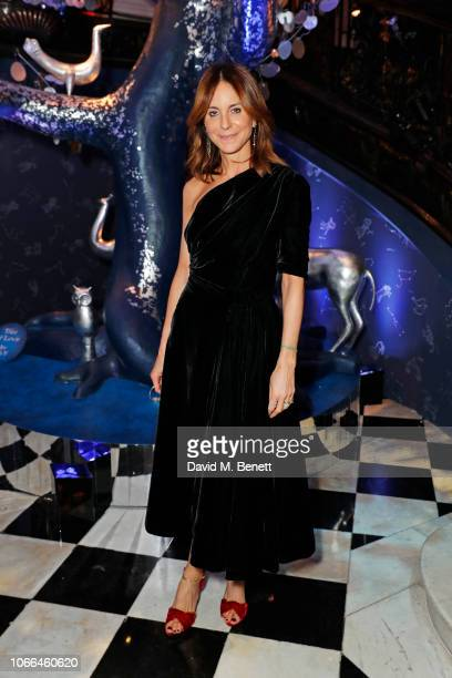 Alison Loehnis attends the Claridge's Zodiac Party hosted by Diane von Furstenberg Edward Enninful to celebrate the Claridge's Christmas Tree 2018...