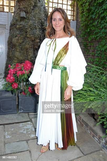 Alison Loehnis attends the NETAPORTER dinner hosted by Alison Loehnis to celebrate the launch of Rosie Assoulin's exclusive collection on May 22 2018...