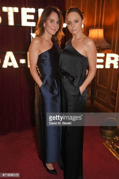 Alison Loehnis President NETAPORTER MR PORTER and Stella McCartney attend a private dinner hosted by NETAPORTER and Stella McCartney to celebrate the...