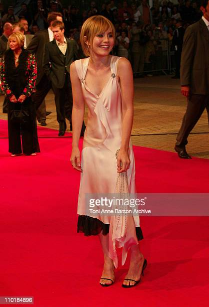 Alison Lohman during 2003 Deauville Film Festival Tribute to Sir Ridley Scott 'Matchstick Men' Premiere at CID in Deauville France