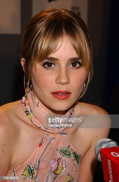 Alison Lohman during 2003 Toronto International Film Festival 'Matchstick Men' Press Conference at Delta Chelsea Hotel in Toronto Ontario Canada