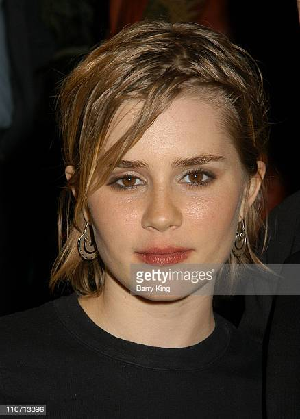 Alison Lohman during 2004 Palm Springs Film Festival Opening Night Big Fish Screening at Palm Springs High School in Palm Springs California United...