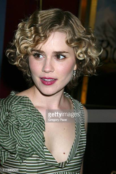 Alison Lohman during 'Big Fish' New York Premiere at Ziegfeld Theatre in New York City New York United States