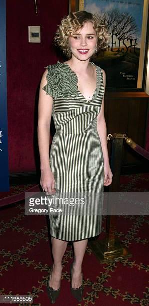 Alison Lohman during 'Big Fish' New York Premiere at Ziegfeld Theatre in New York City New York United States
