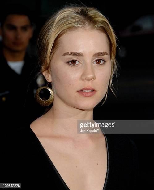 Alison Lohman during 'Sicko' Los Angeles Premiere Arrivals at Academy Of Motion Picture Arts Sciences in Beverly Hills California United States
