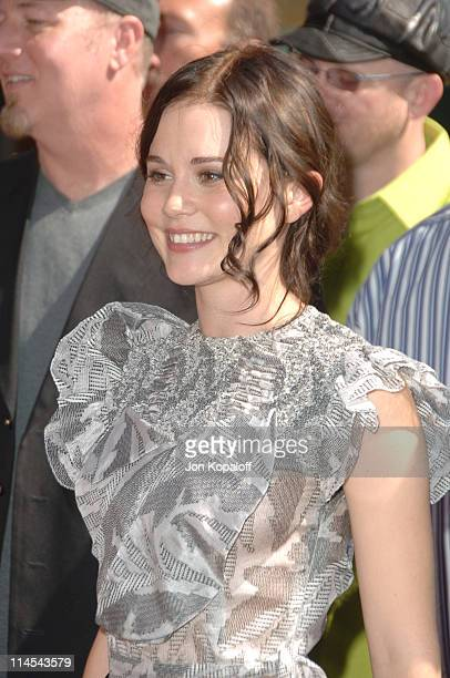 Alison Lohman during Tim McGraw Honored with a Star on the Hollywood Walk of Fame at 6901 Hollywood Blvd in front of the Virgin Megastore in...