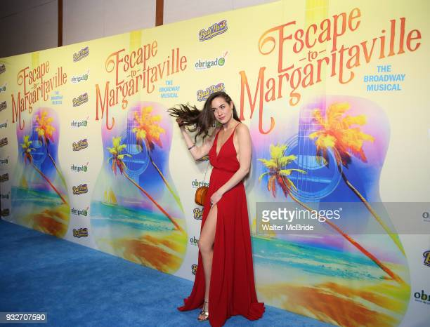 Alison Luff attends the the Broadway Opening Night After Party for 'Escape To Margaritaville' at Pier Sixty on March 15 2018 in New York City