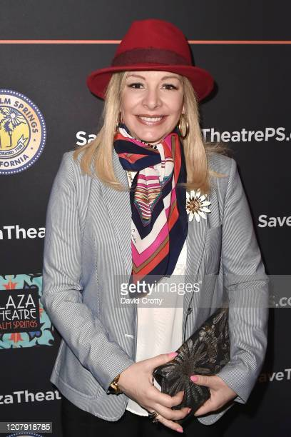 Alison Martino attends the House Of Cardin Special Screening At Palm Springs Modernism Week at The Plaza Theater on February 21 2020 in Palm Springs...