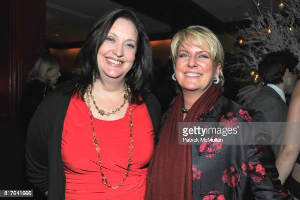 Alison Mazzola and Felicia Taylor attend ANNE HEARST MCINERNEY JAY MCINERNEY and GEORGE FARIAS Holiday Party at 21 Club on December 16 2010 in New...