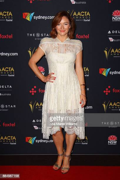Alison McGirr attends the 7th AACTA Awards Presented by Foxtel | Industry Luncheon at The Star on December 4 2017 in Sydney Australia