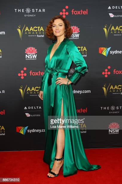 Alison McGirr attends the 7th AACTA Awards Presented by Foxtel | Ceremony at The Star on December 6 2017 in Sydney Australia