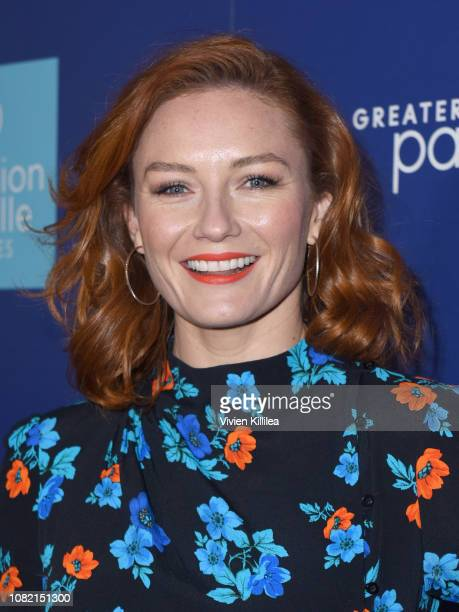 Alison McGirr attends the Closing Night Screening of 'Ladies In Black' at the 30th Annual Palm Springs International Film Festival on January 13 2019...