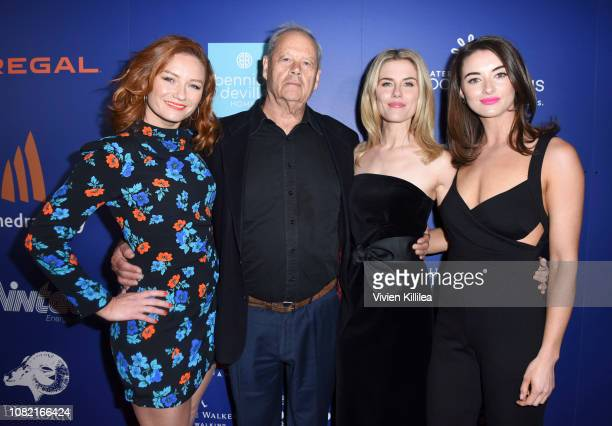 Alison McGirr Bruce Beresford Rachael Taylor and Celia Massingham attend the Closing Night Screening of 'Ladies In Black' at the 30th Annual Palm...