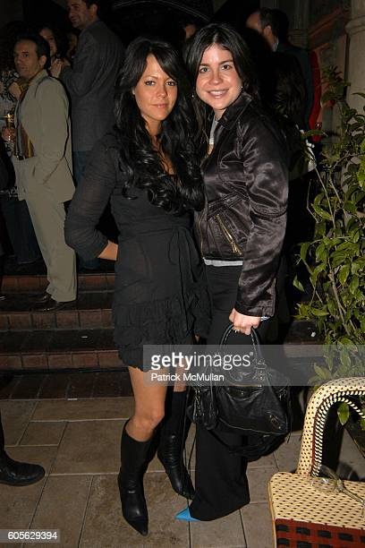 Alison Melnick and Lauren Tabak attend ETRO and PERRIER JOUET Celebrate Patrick McMullan's Book KISS KISS at Chateau Marmont on February 28, 2006 in...