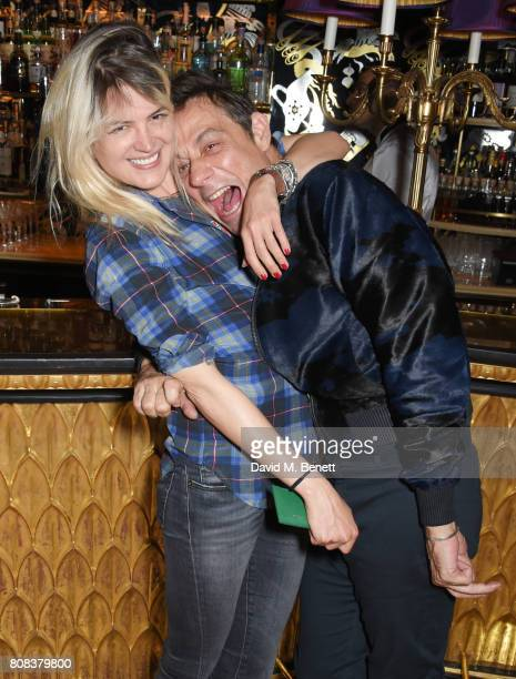Alison Mosshart and Jamie Hince attend the Rockins party to celebrate the Rockins Selfridges PopUp Shop at Park Chinois supported by Ciroc on July 4...