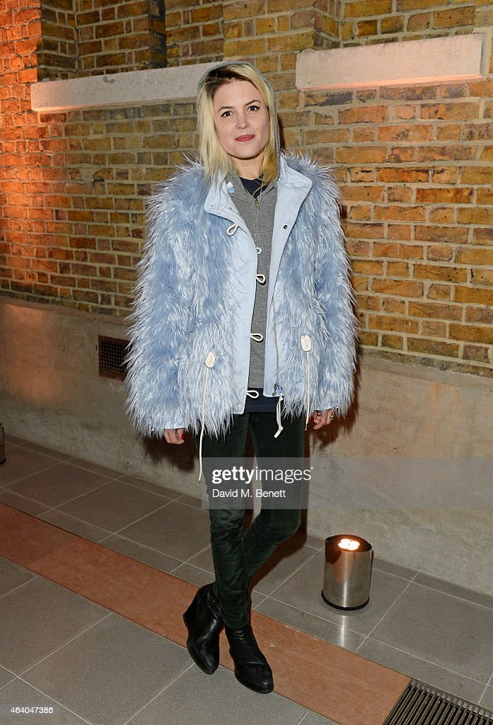 Alison Mosshart attends the Coach X Serpentine The Future Contemporaries Party at The Serpentine Sackler Gallery on February 21, 2015 in London, England.