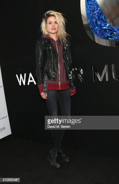 Alison Mosshart attends The Warner Music Group And Belvedere Brit Awards After Party In Association With Vanity Fair at The Savoy Hotel on February...