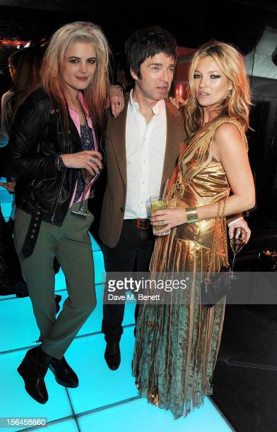 Alison Mosshart Noel Gallagher and Kate Moss attend an after party celebrating the launch of 'Kate The Kate Moss Book' hosted by Marc Jacobs...