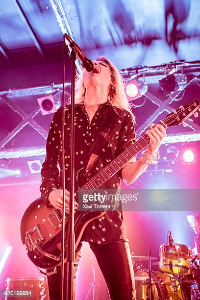 Alison Mosshart of The Kills performs in concert at sala Razzmatazz on November 1 2016 in Barcelona Spain