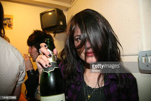 Alison Mosshart of The Kills photographed at the Hawley Arms Fundraiser to raise awareness for popular hangout that is yet to reopen after severe...