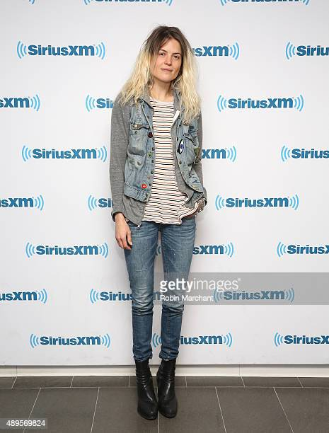 Alison Mosshart visits at SiriusXM Studios on September 22 2015 in New York City
