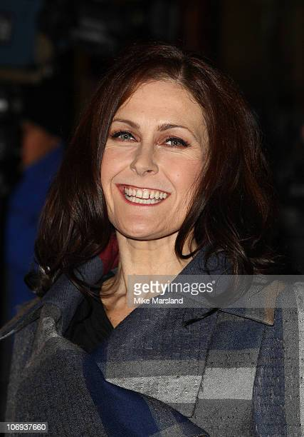 Alison Moyet arrives at The Prince's Trust Rock Gala at Royal Albert Hall on November 17 2010 in London England