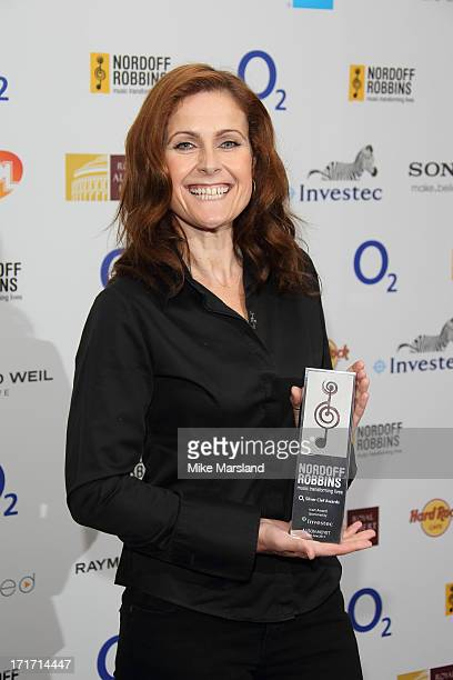 Alison Moyet attends the Nordoff Robbins Silver Clef Awards at London Hilton on June 28 2013 in London England