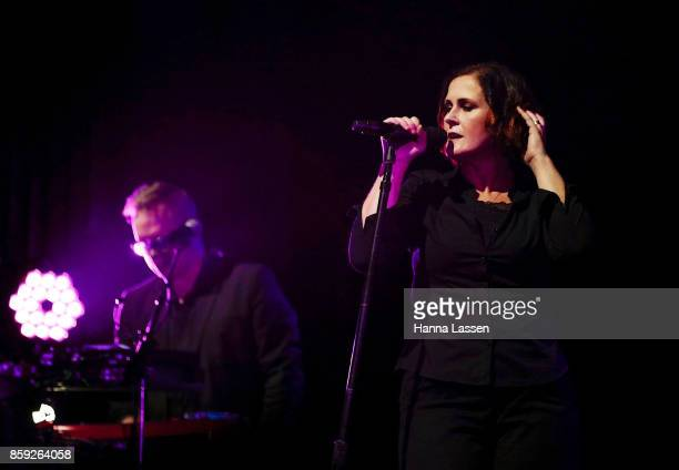Alison Moyet performs at Enmore Theatre on October 9 2017 in Sydney Australia