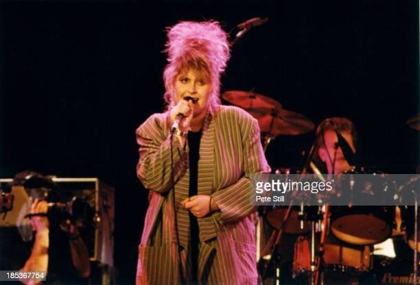 Alison Moyet performs at The Prince's Trust Concert at Wembley Arena on June 6th 1987 in London England
