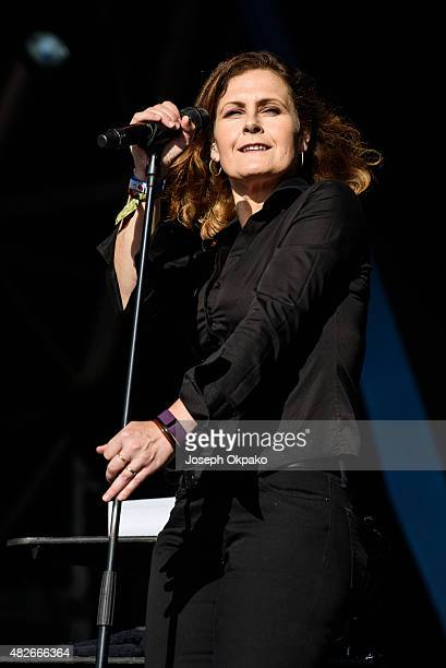 Alison Moyet performs on Day 3 of Camp Bestival on August 1 2015 in Wareham United Kingdom