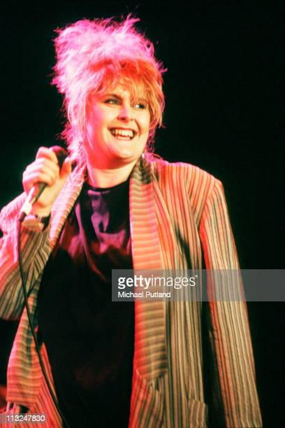 Alison Moyet performs on stage at the Prince's Trust concert Wembley London 6th June 1987