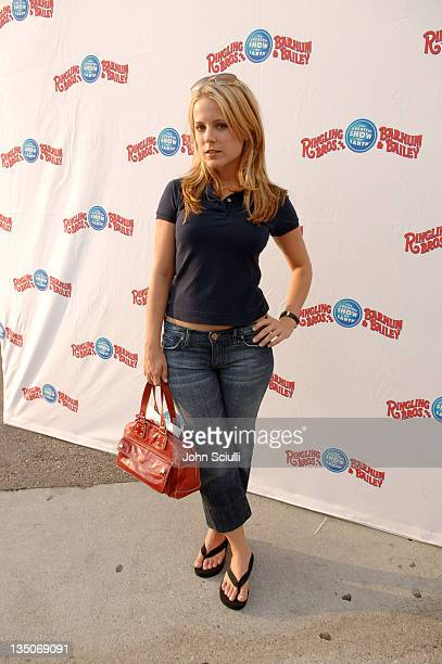 Alison Munn during Ringling Bros PreCircus Celebrity Gathering at Staples Center in Los Angeles California United States