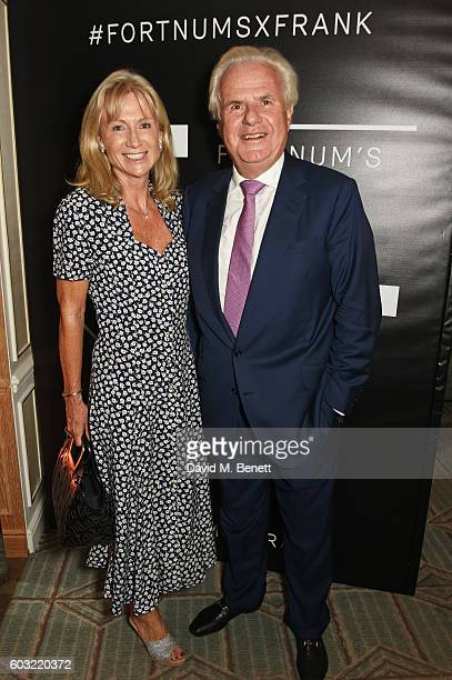 Alison Myners and Lord Paul Myners attend the launch of Fortnum's X Frank at Fortnum Mason on September 12 2016 in London United Kingdom This free...