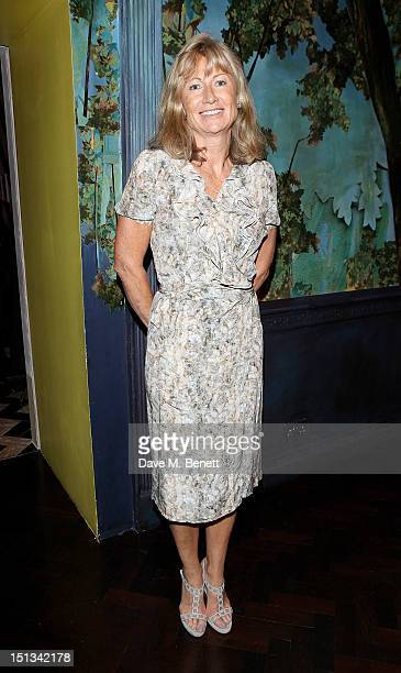 Alison Myners arrives for Tatler's 'The Great Girls Lunch' in aid of Cancer Research UK at Sketch on September 6 2012 in London England