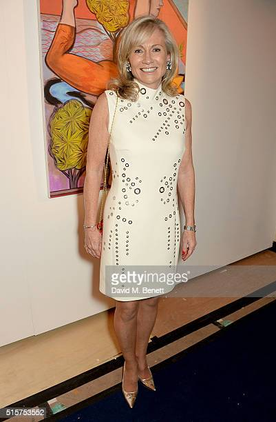 Alison Myners attends the Royal Academy Schools annual dinner and auction 2016 at the Royal Academy of Arts on March 15 2016 in London England