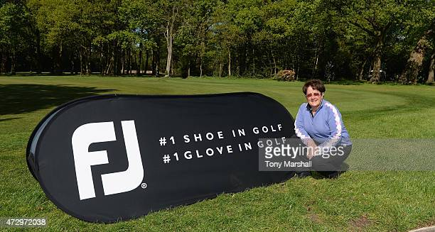 Alison Nicholas of Hagley Golf Club winner of the Titleist and FootJoy Women's PGA Professional Championship qualifier at Little Aston Golf Club on...