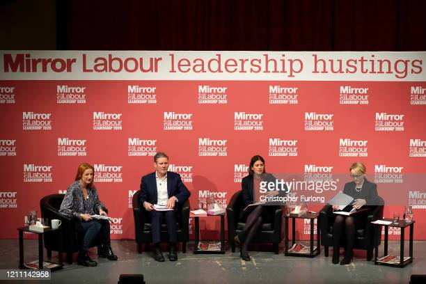 Alison Phillips Editor of the Daily Mirror Newspaper Sir Keir Starmer Shadow Secretary of State for Exiting the European Union Lisa Nandy MP for...