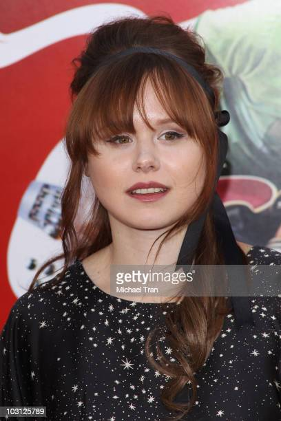 """Alison Pill arrives to the Los Angeles premiere of """"Scott Pilgrim VS. The World"""" held at Grauman's Chinese Theatre on July 27, 2010 in Hollywood,..."""