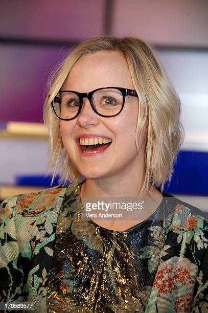 Alison Pill at 'The Newsroom' Press Conference at Sunset Gower Studios on June 13 2013 in Hollywood California