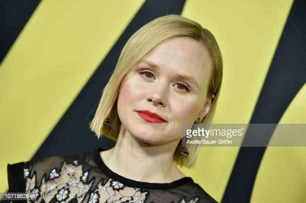 Alison Pill attends Annapurna Pictures Gary Sanchez Productions and Plan B Entertainment's World Premiere of 'Vice' at AMPAS Samuel Goldwyn Theater...