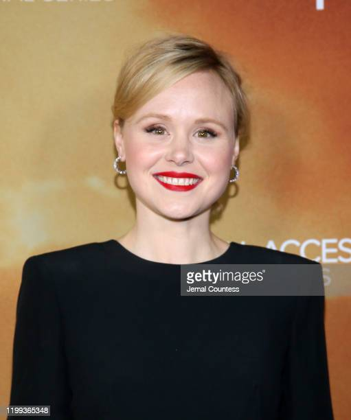 """Alison Pill attends the premiere of """"Star Trek: Picard"""" at ArcLight Cinerama Dome on January 13, 2020 in Hollywood, California."""